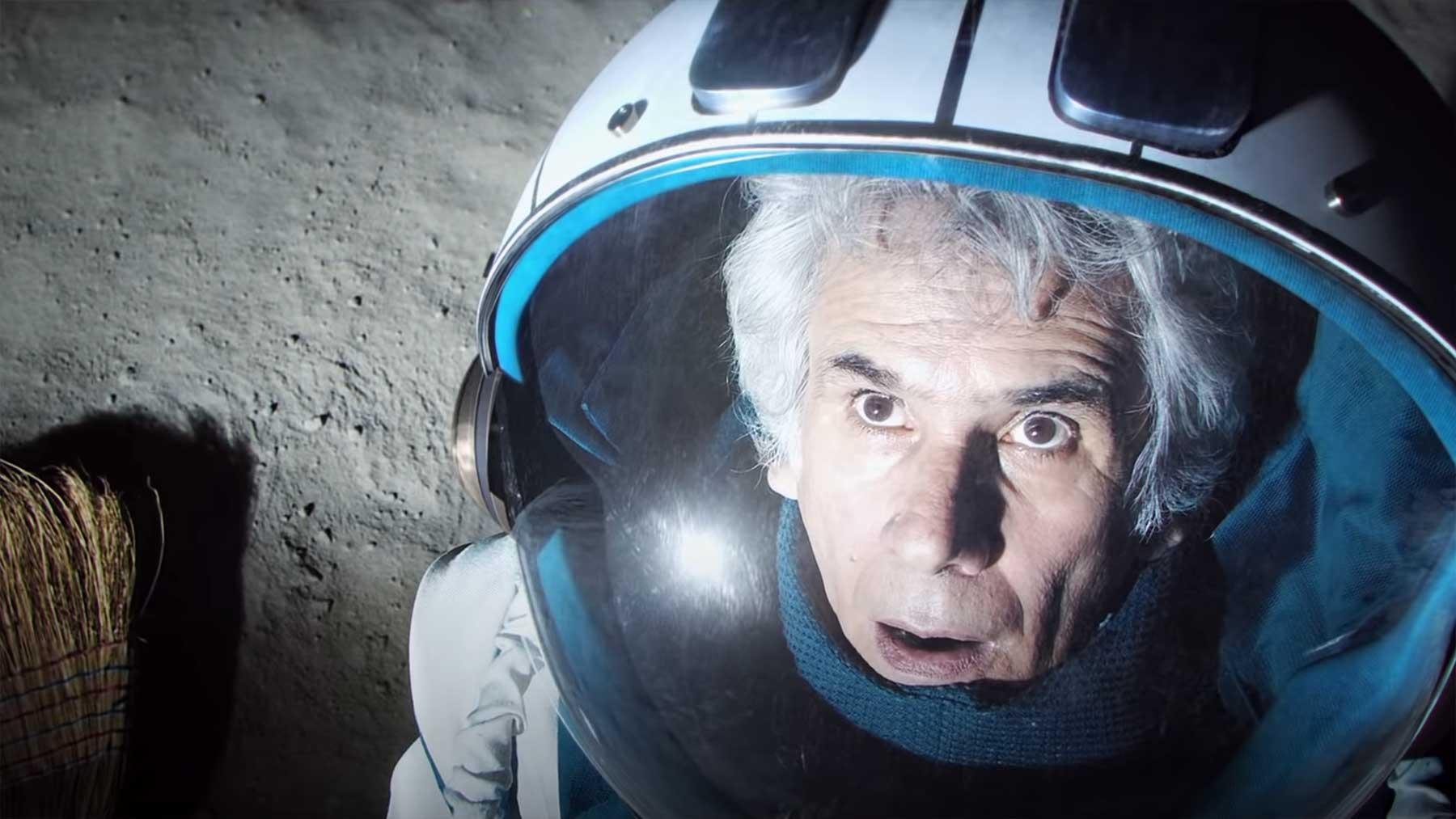 Der Mann im Mond hat die Faxen dicke!