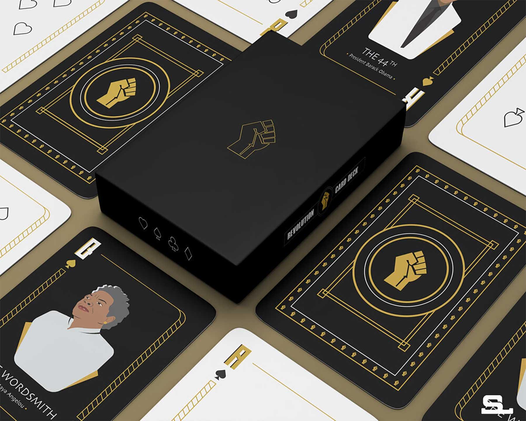 """Das """"Revolution Card Deck"""" huldigt wichtigen Personen der schwarzen Geschichte Revolution-Card-Deck_04"""