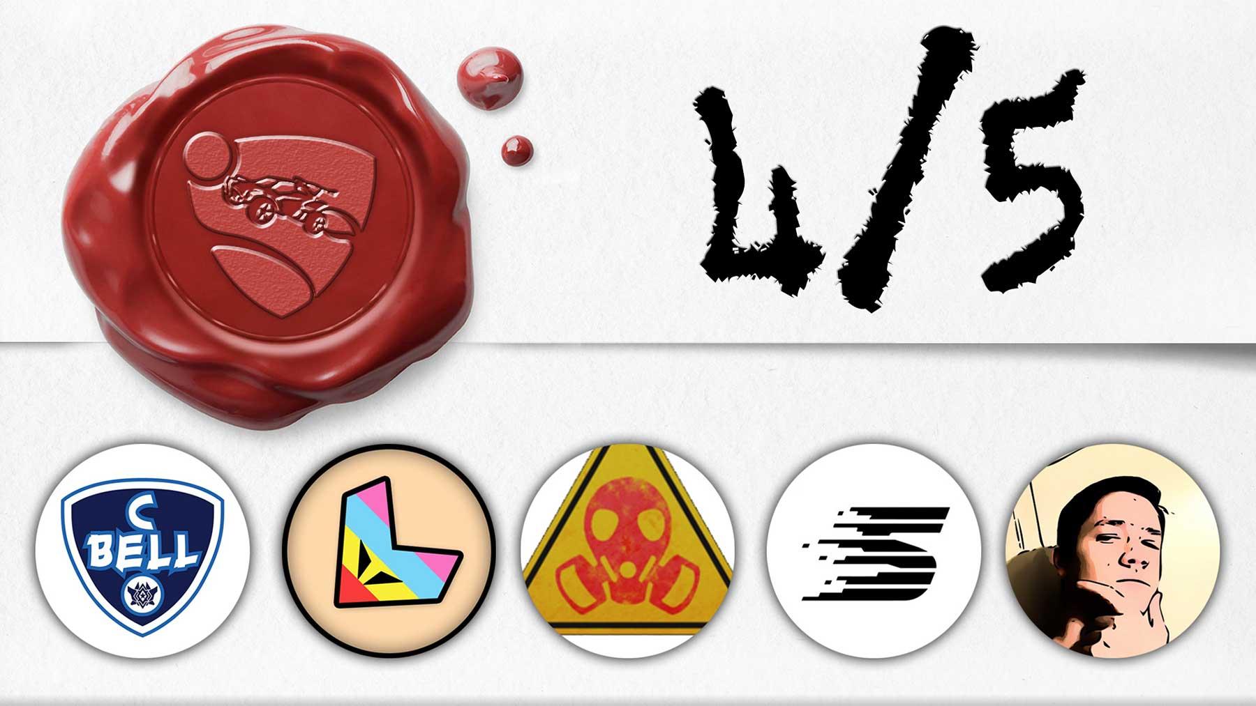 "YouTuber versuchen, das ""Rocket League""-Logo zu malen"