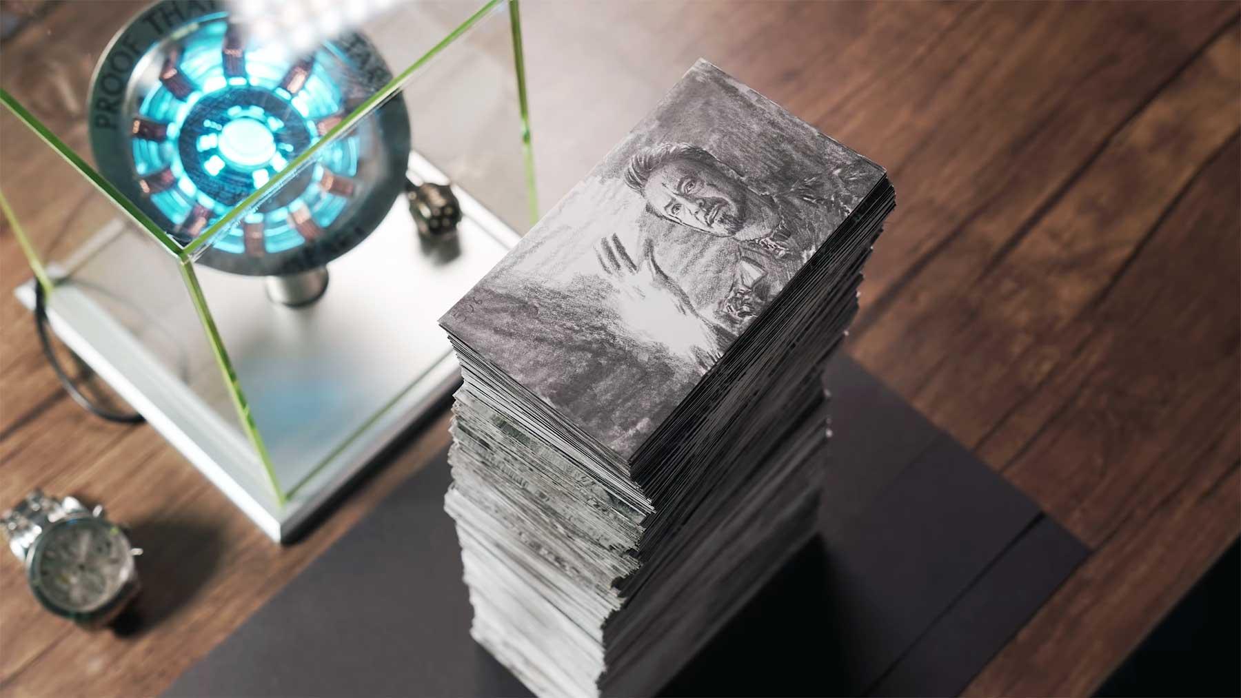 """""""Avengers""""-Daumenkino aus 1.400 Zeichnungen"""