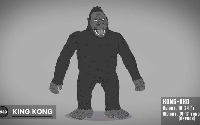 The Evolution of King Kong