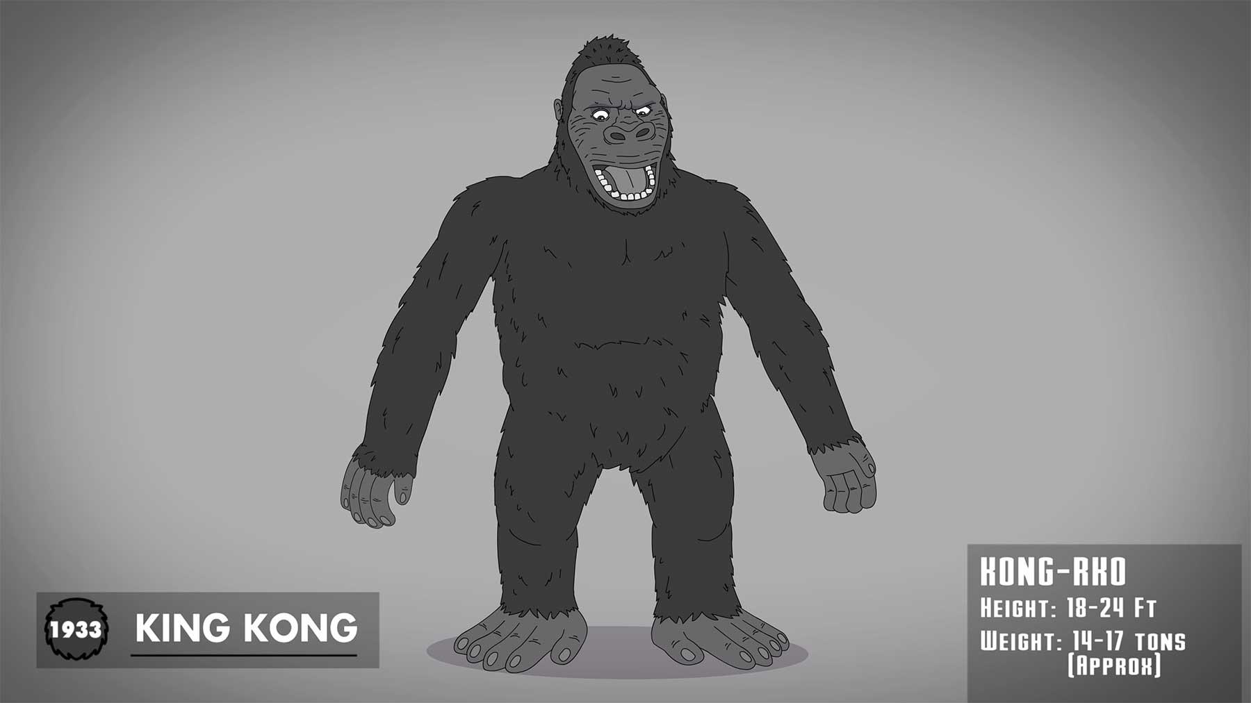 The Evolution of King Kong evolution-of-king-kong