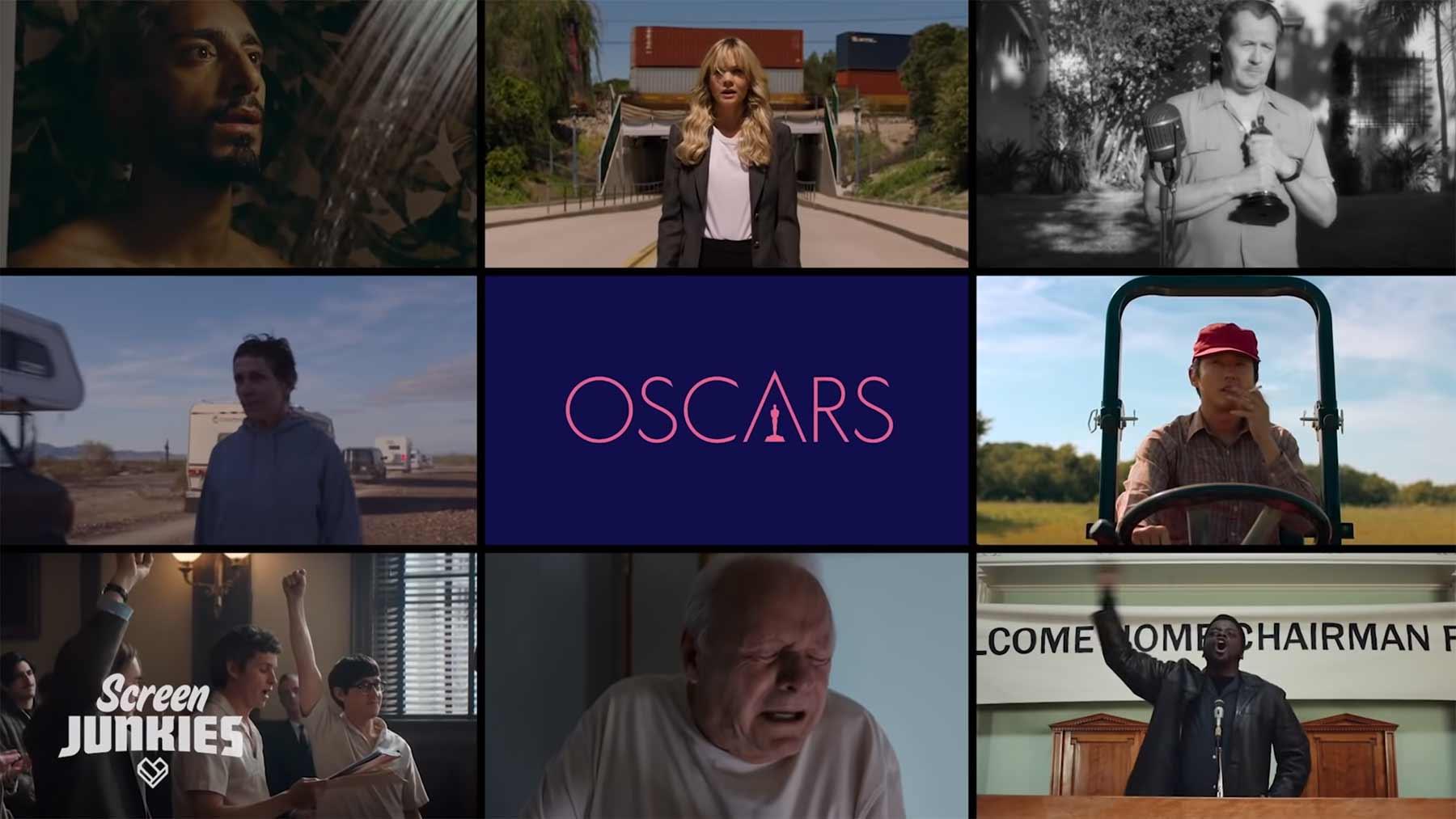 Honest Trailers: Die Oscar-nominierten Filme 2021