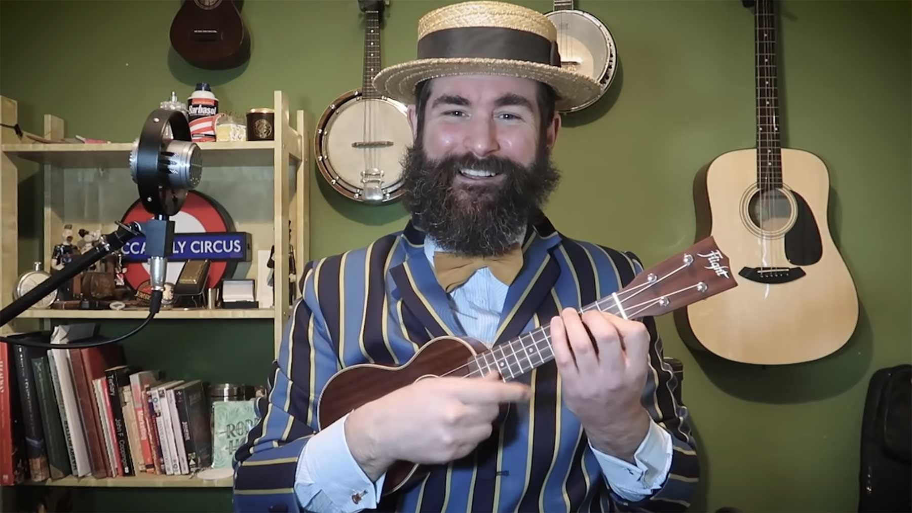 """""""I've No More F***s To Give""""-Lied als unplugged Ukulele-Version"""