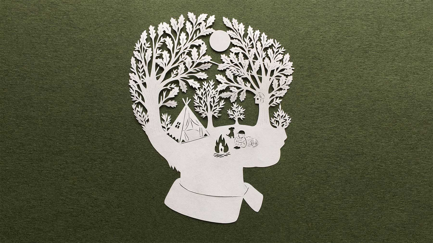 Papierschnitt-Kunst von Kanako Abe