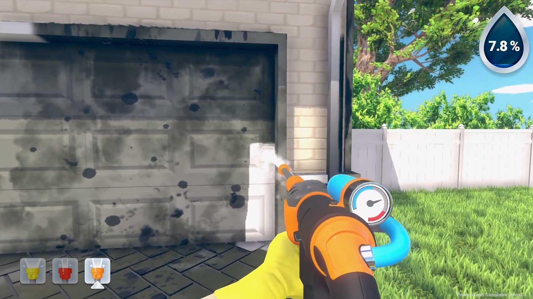 Das Hochdruckreiniger-Simulator-Videospiel