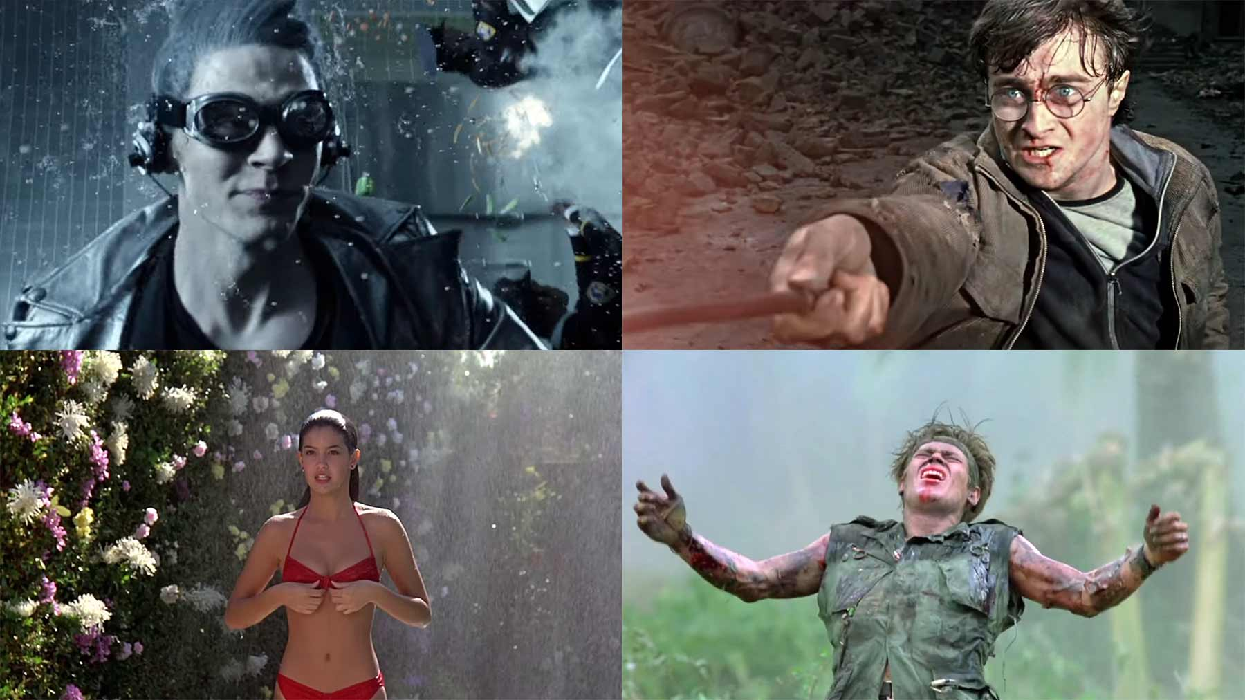 Supercut: Slowmotion-Szenen in Filmen