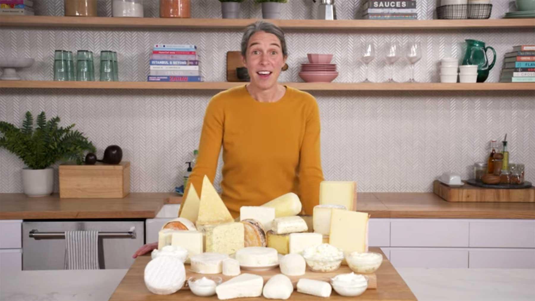 Wie man JEDEN* Käse richtig schneidet
