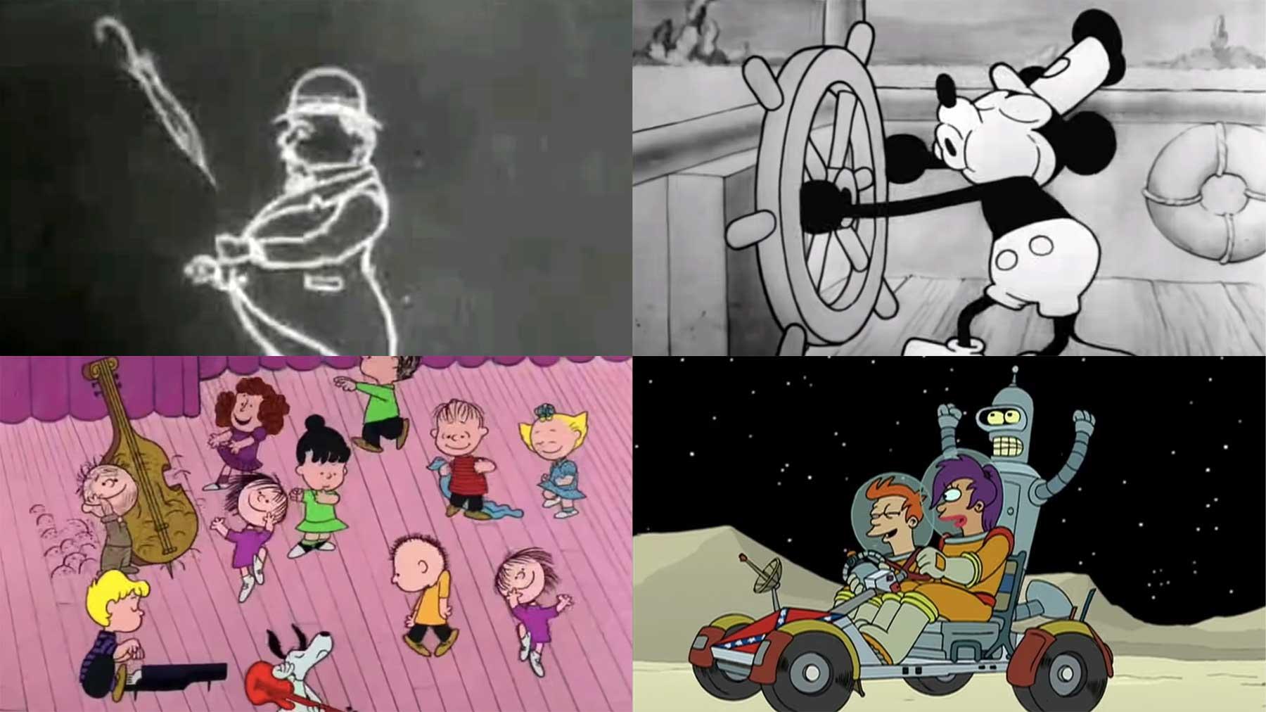 Evolution: 100 Jahre Animation
