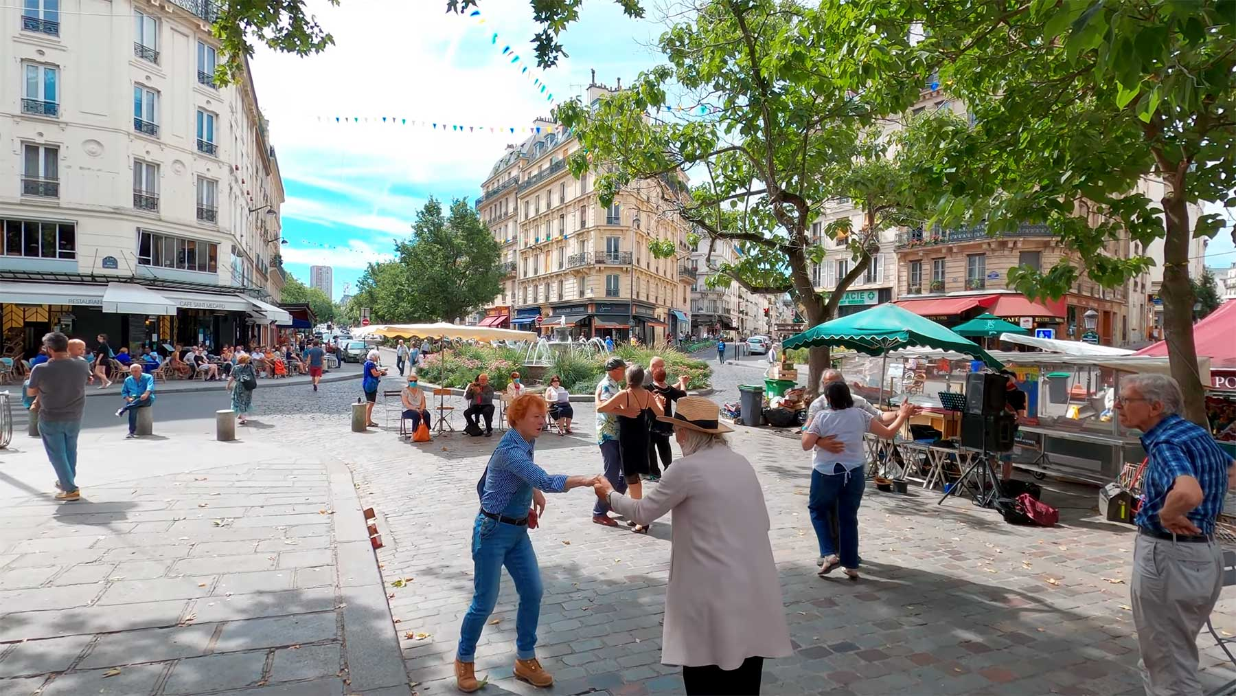 5-stündiger Videospaziergang durch Paris