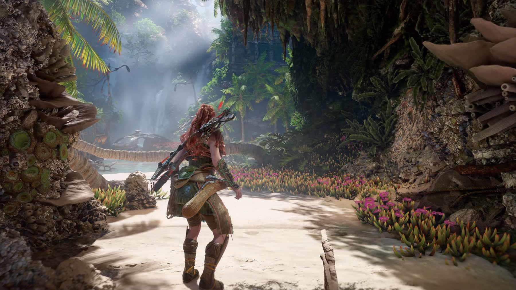"""Gameplay zu """"Horizon Forbidden West"""" auf der PS5"""