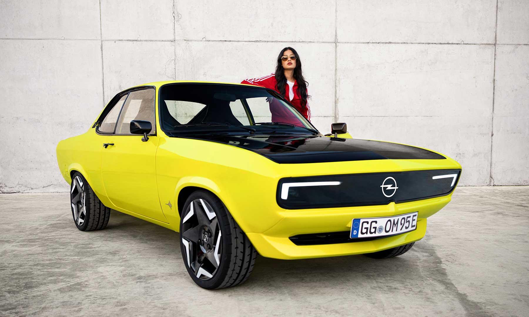 Opels elektrischer Manta schaut verdammt cool aus!