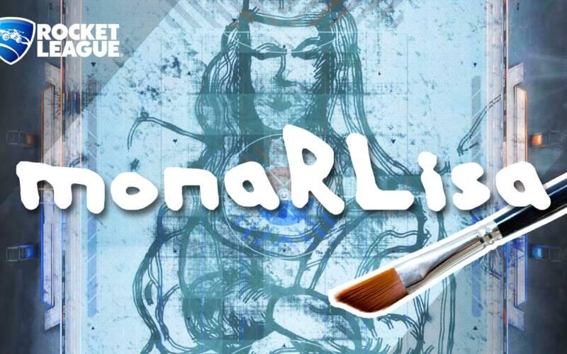 """Ich habe die Mona Lisa in """"Rocket League"""" gemalt"""