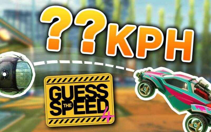 Rocket League Quiz: Guess the Speed 4