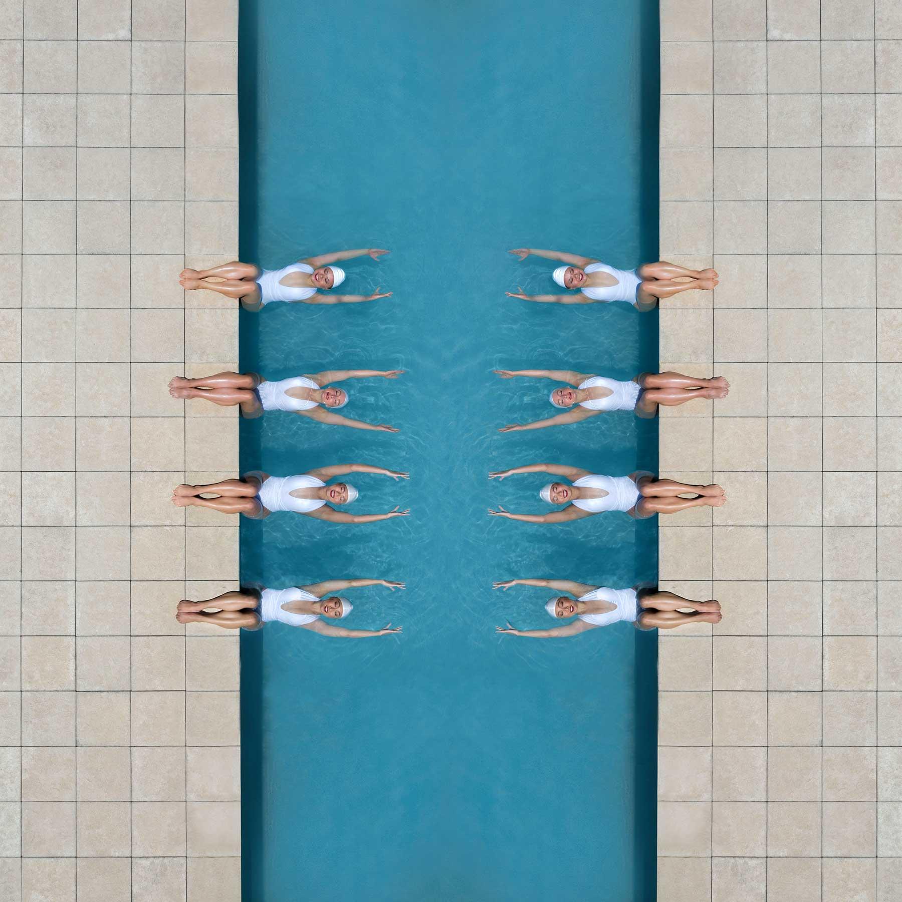 Synchronschwimmen-Luftaufnahmen von Brad Walls Water-Geomaids-Brad-Walls_07