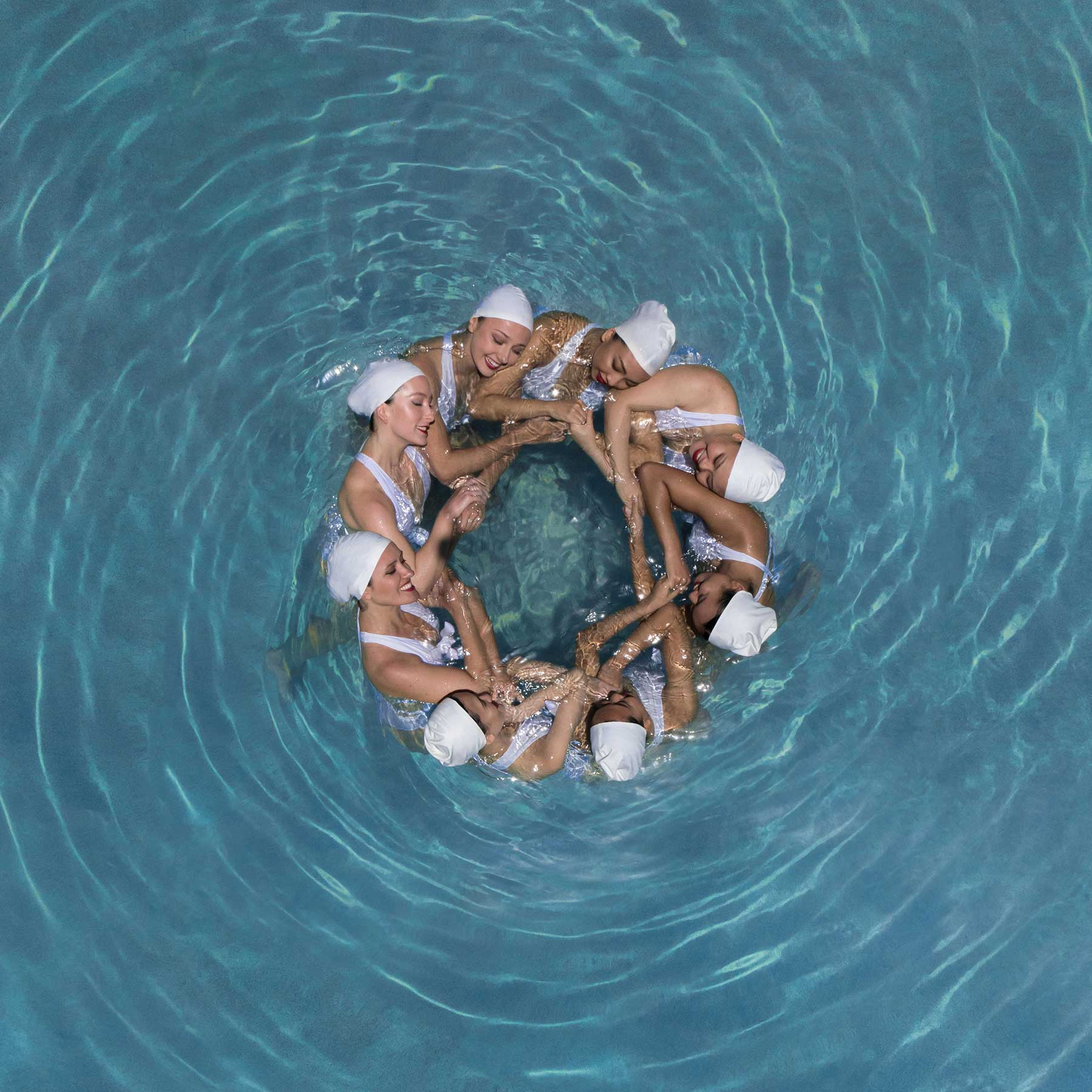 Synchronschwimmen-Luftaufnahmen von Brad Walls Water-Geomaids-Brad-Walls_10