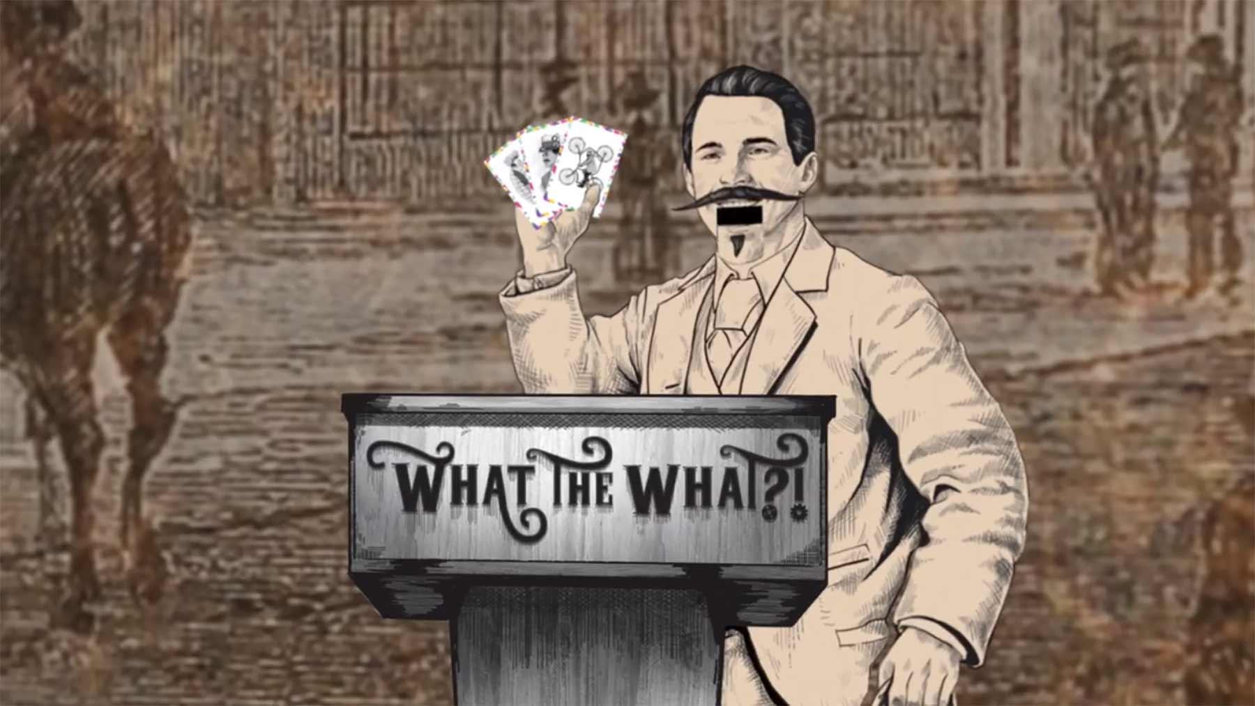 "Kickstarter-Tipp: Party-Kartenspiel ""What the What?!"" What-the-What-kartenspiel-kickstarter"