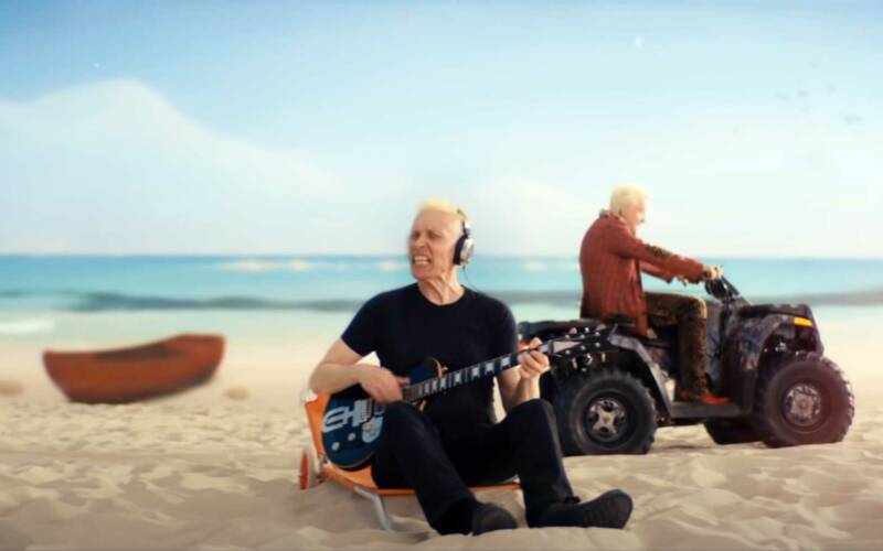 """Musikvideo: Die Ärzte – """"Ich, am Strand"""""""