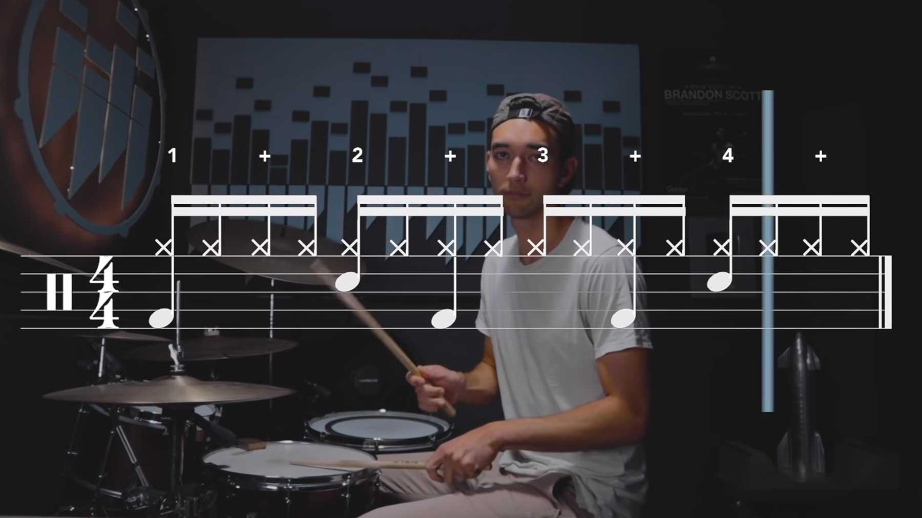 Dieses Beat-Muster ist in etlichen Songs zu hören