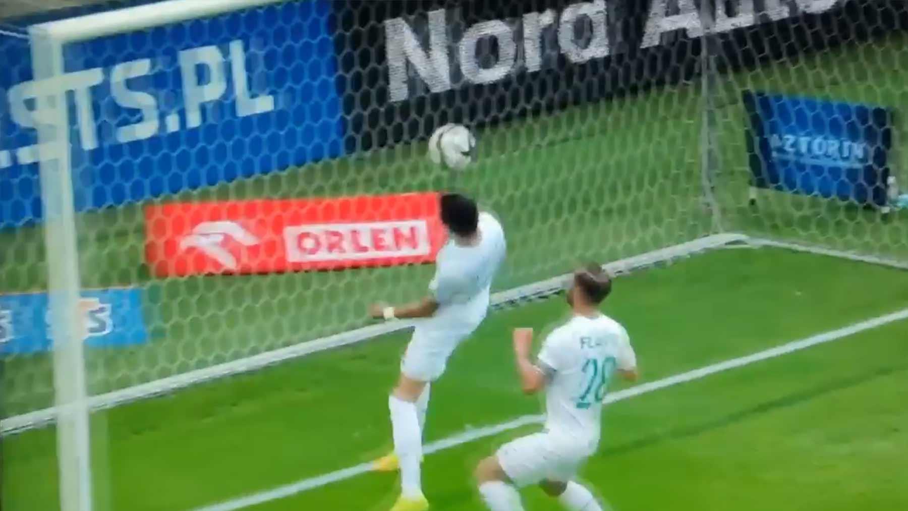 Fußball-Fails aus der 1. polnischen Liga