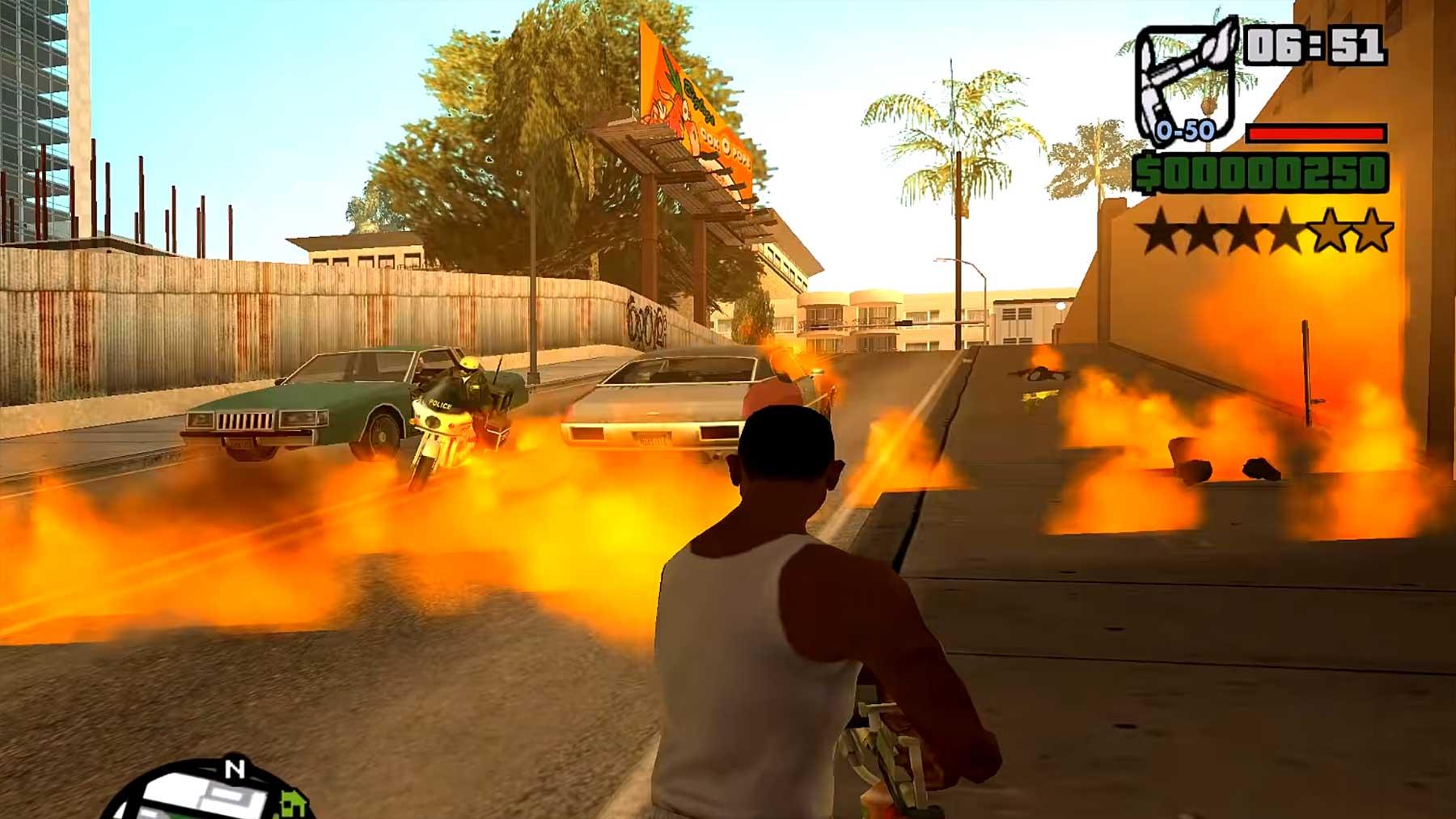 Flammenwerfer in Videospielen