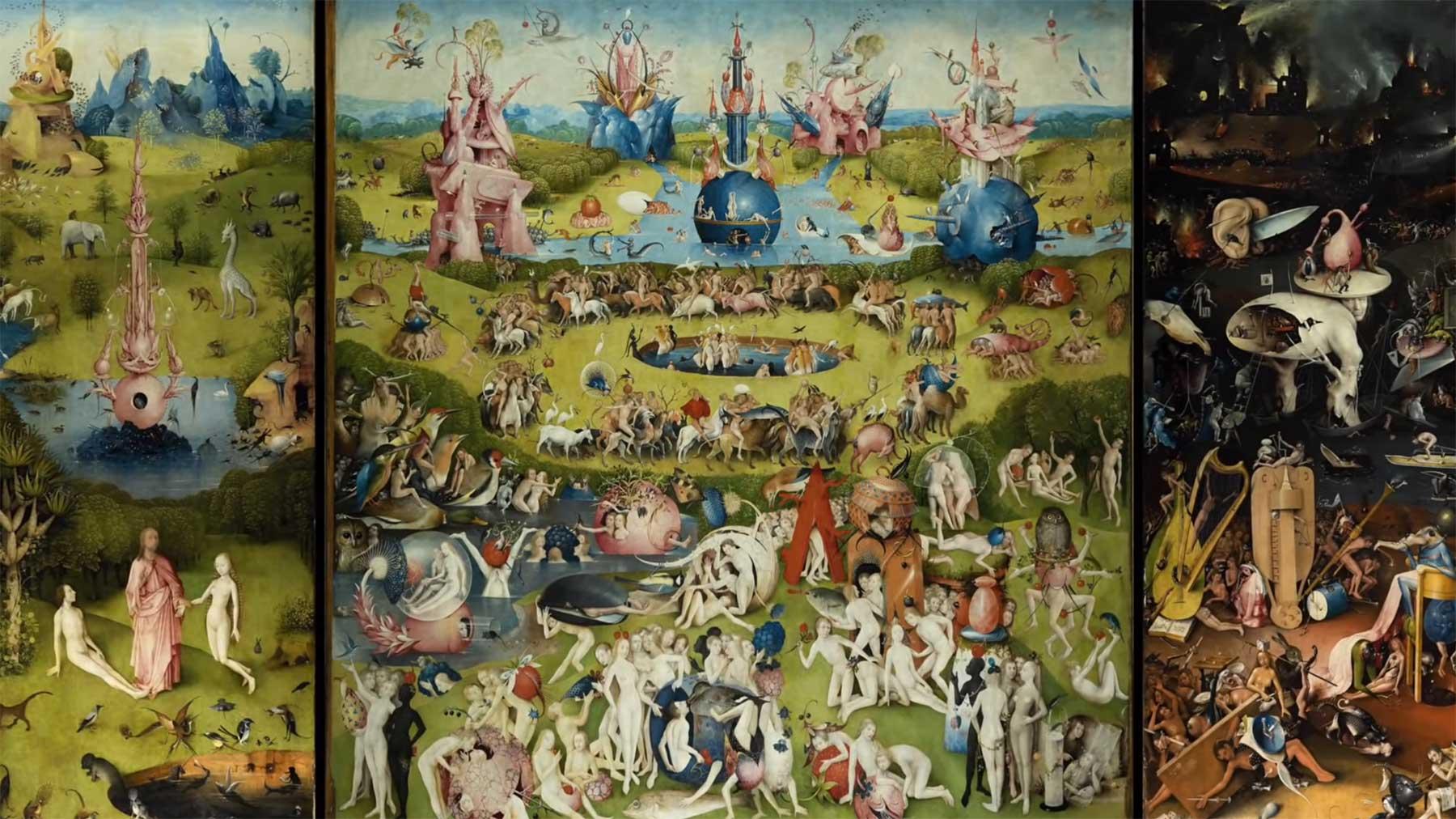 """Erklärung des Kunstwerkes """"Der Garten der Lüste"""" von Hieronymus Bosch hieronymus-bosch-der-garten-der-lueste-erklaerung"""
