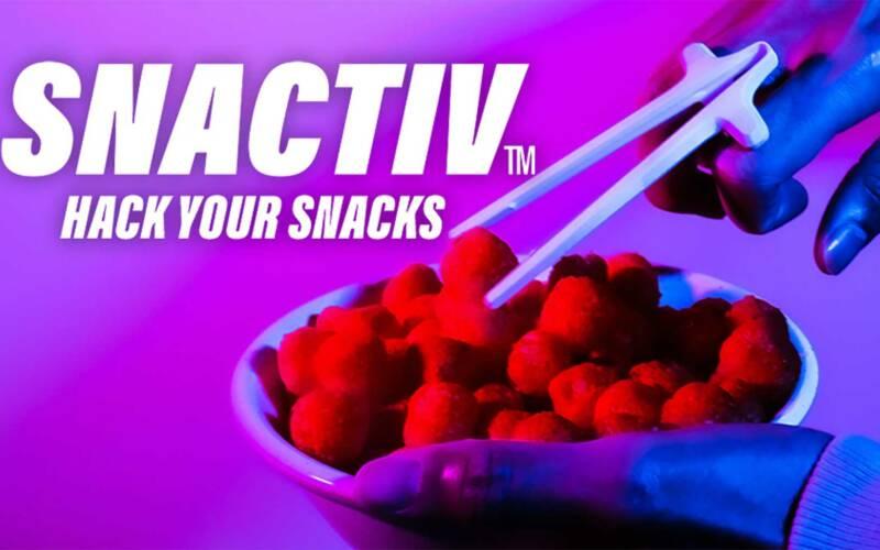 Snacken ohne Sauerei mit den SNACTIV-Essstäbchen