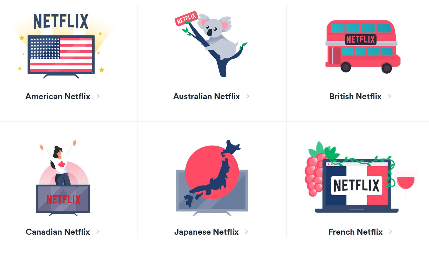 Netflix, Prime Video & Co. aus dem Ausland streamen mit Surfshark VPN streaming_Surfshark-vpn_netflix