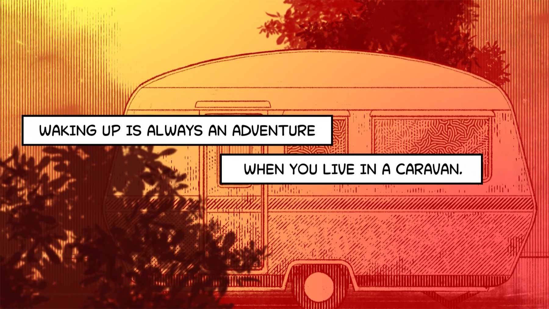 """Animierter Kurzfilm: """"The Caravan"""""""