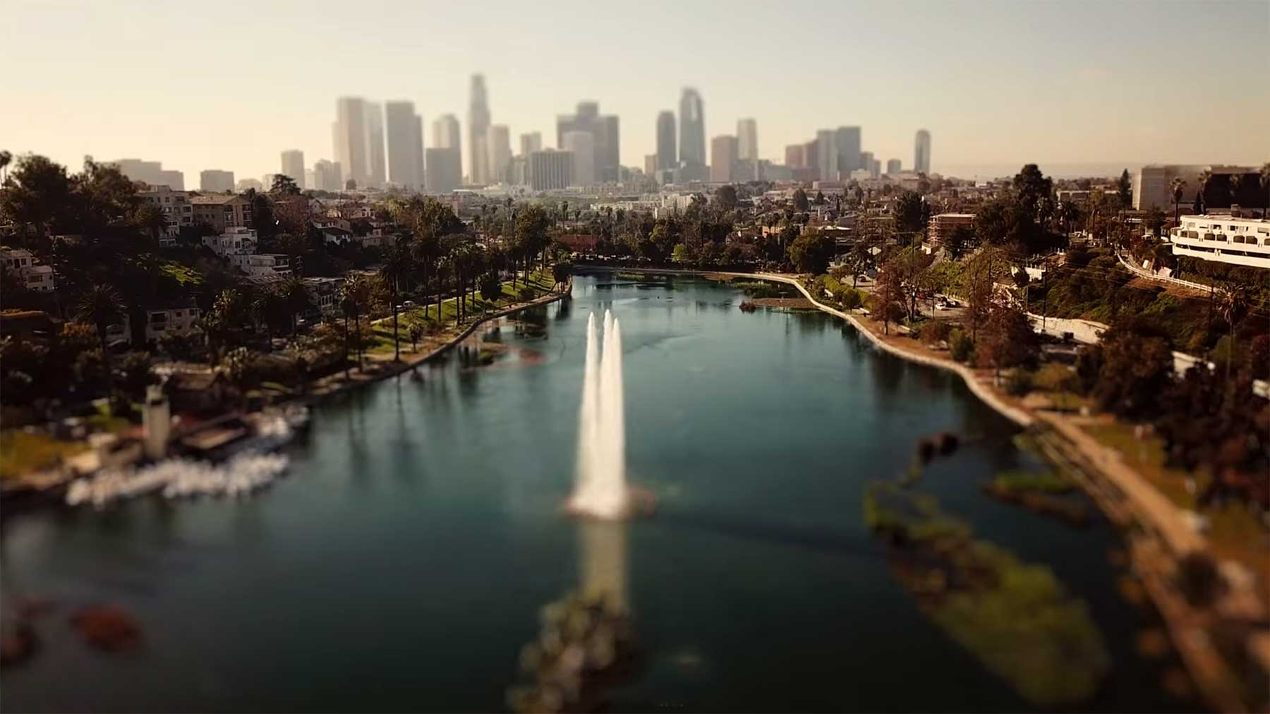 Tilt-Shift-Video: L.A. XS