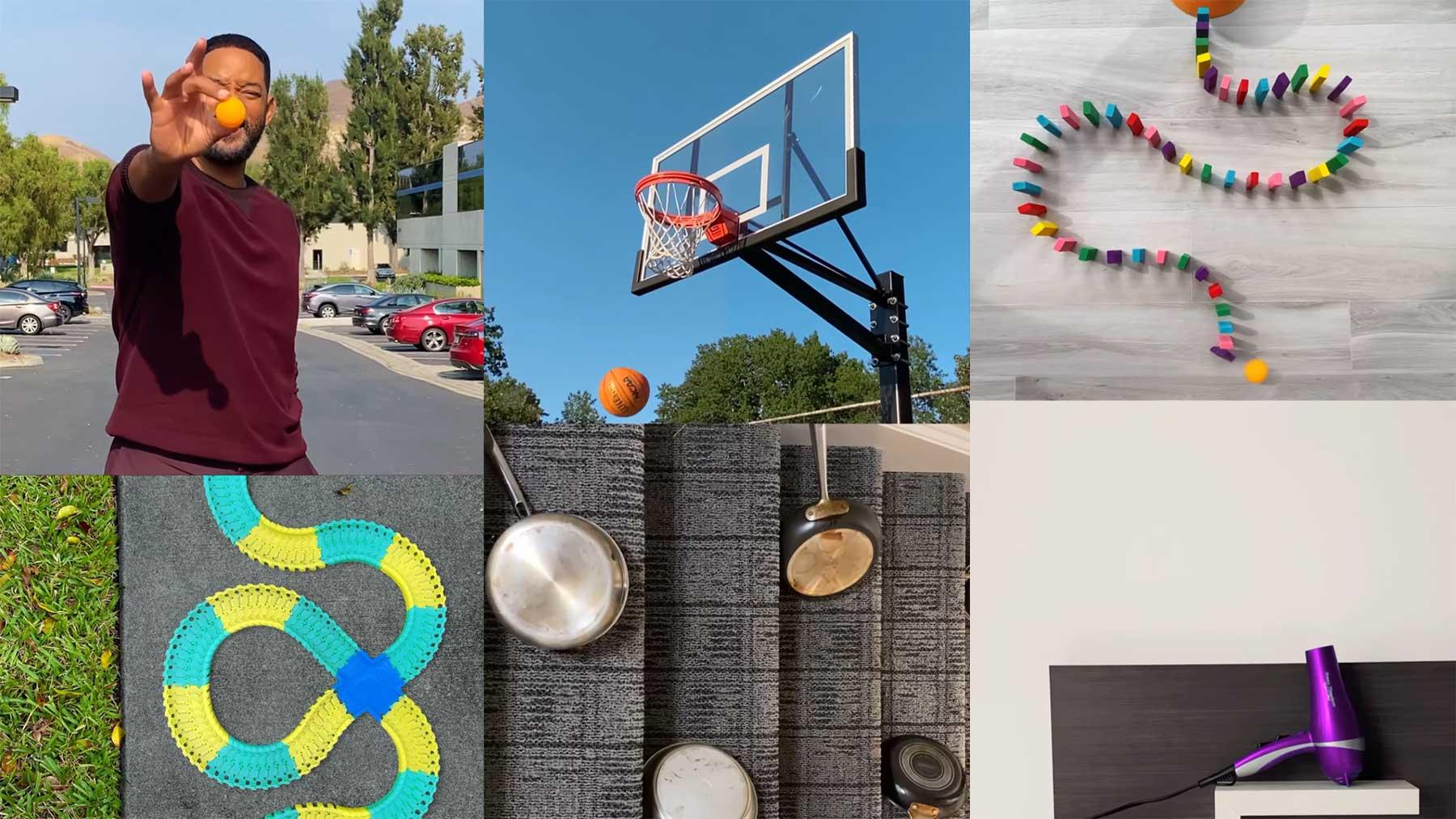 Will Smiths transformierender Tischtennisball