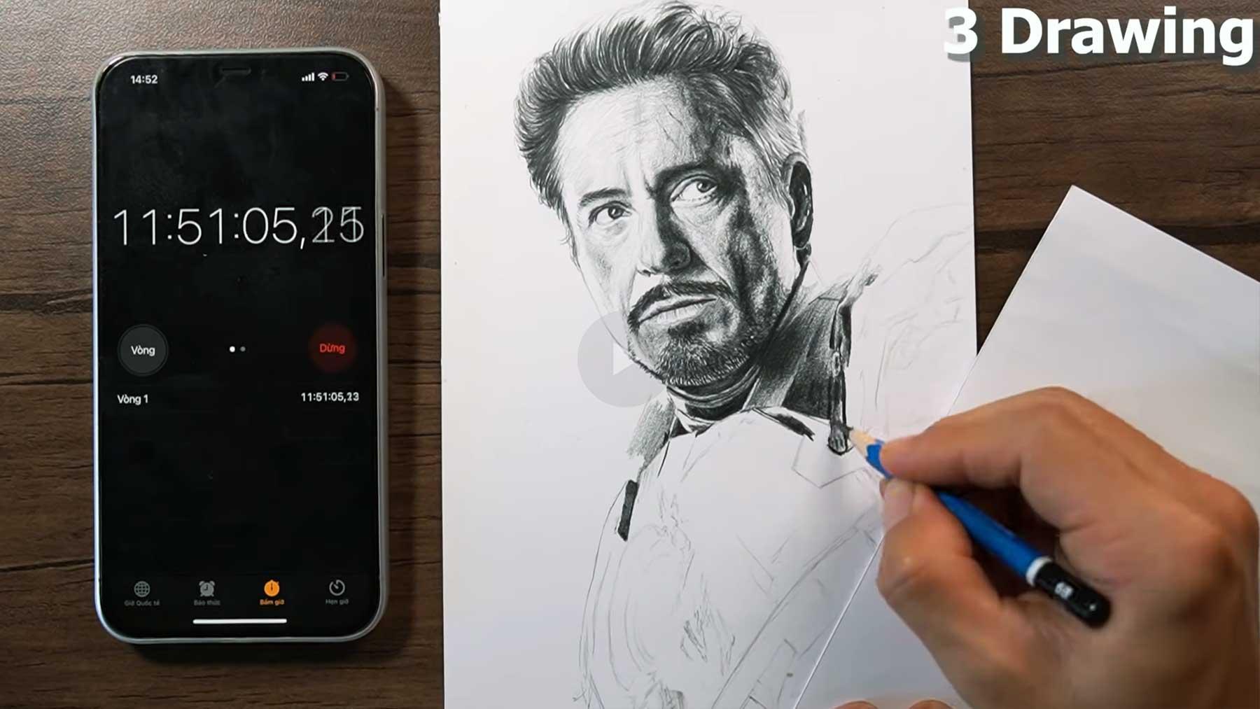 """Zeichnen, bis der Bleistift """"alle"""" ist"""