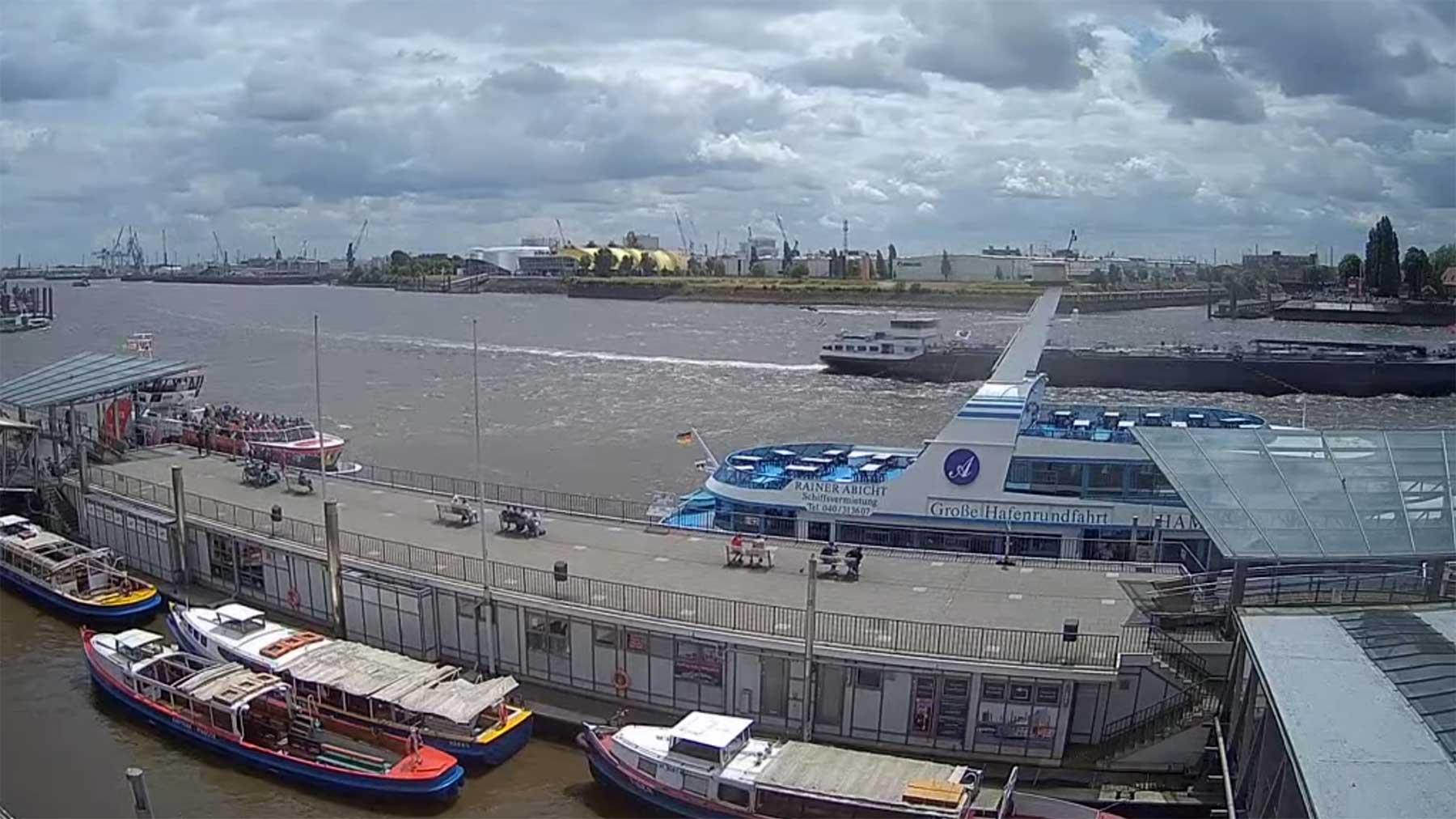 24/7-Livestream-Webcams zeigen Hamburg, Nord- & Ostseeküste