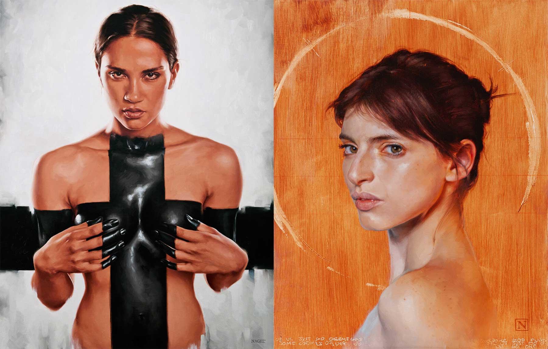Malerei von Aaron Nagel