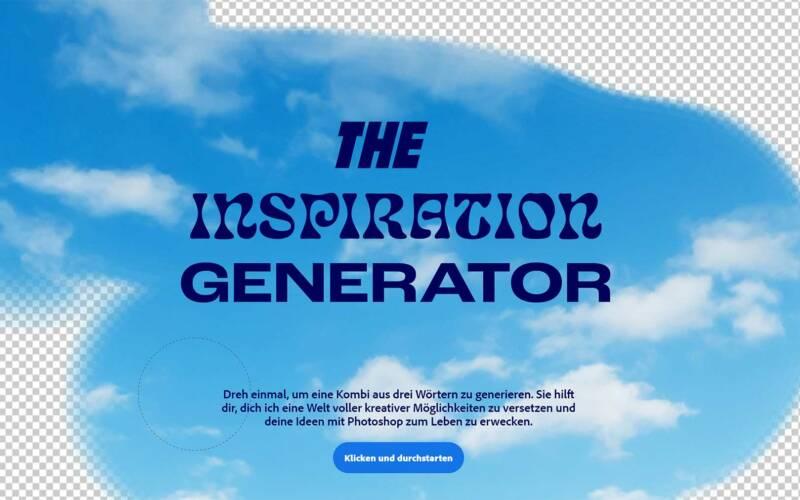 """""""The Inspiration Generator"""" schenkt euch kreative Anstöße"""