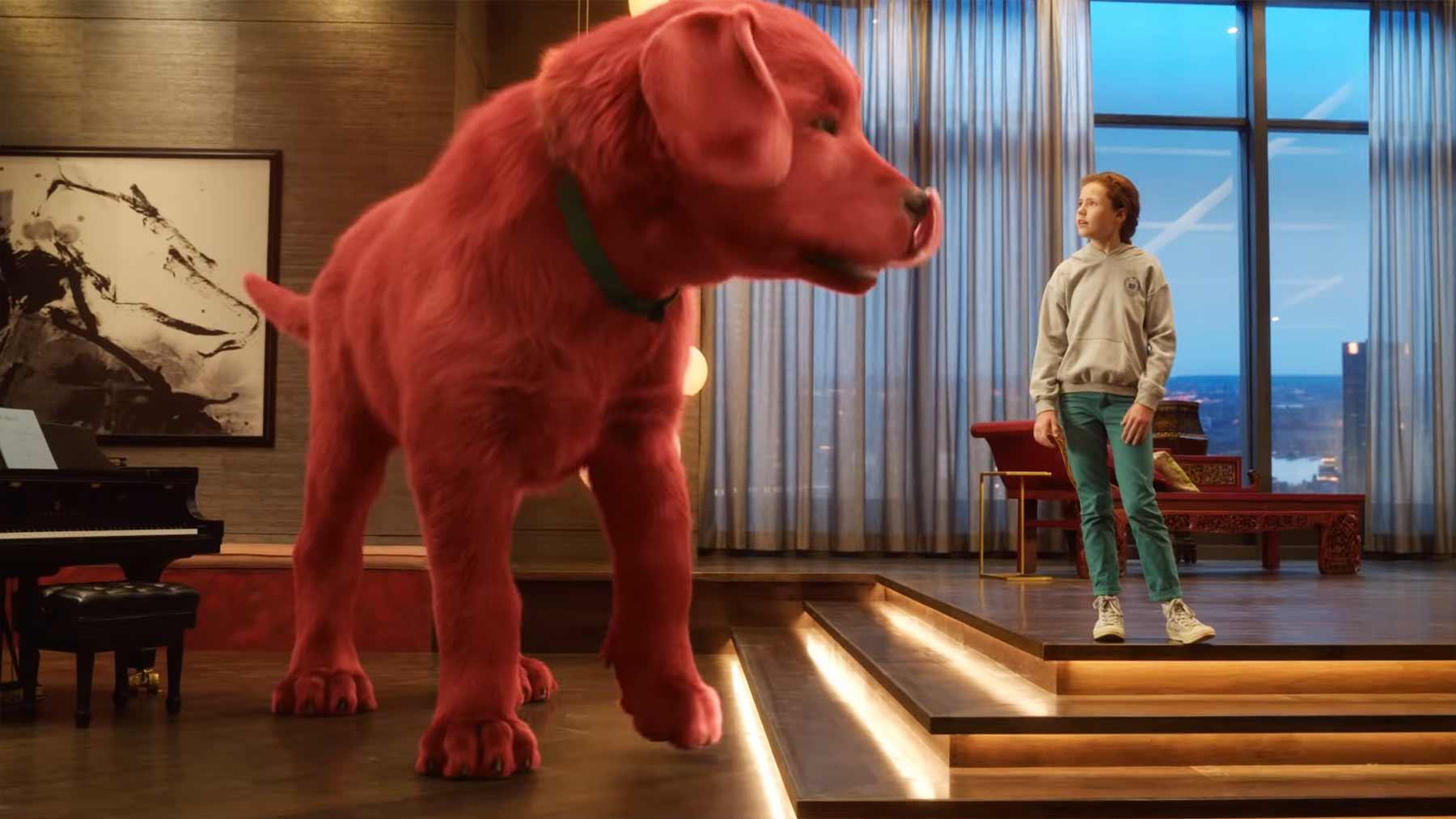 """Trailer zum Film """"Clifford der große rote Hund"""""""