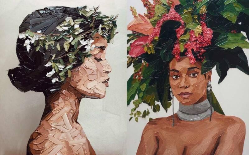 Malereien von Elena Gual Baquera