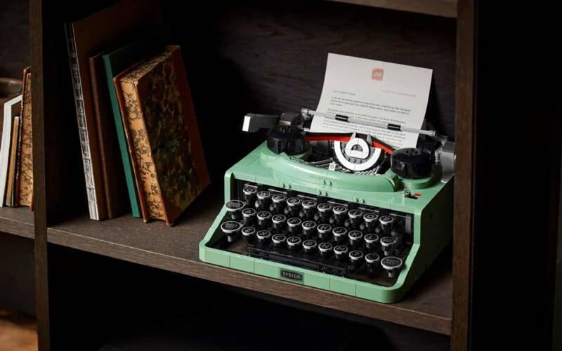 LEGO Schreibmaschine (Set 21327)