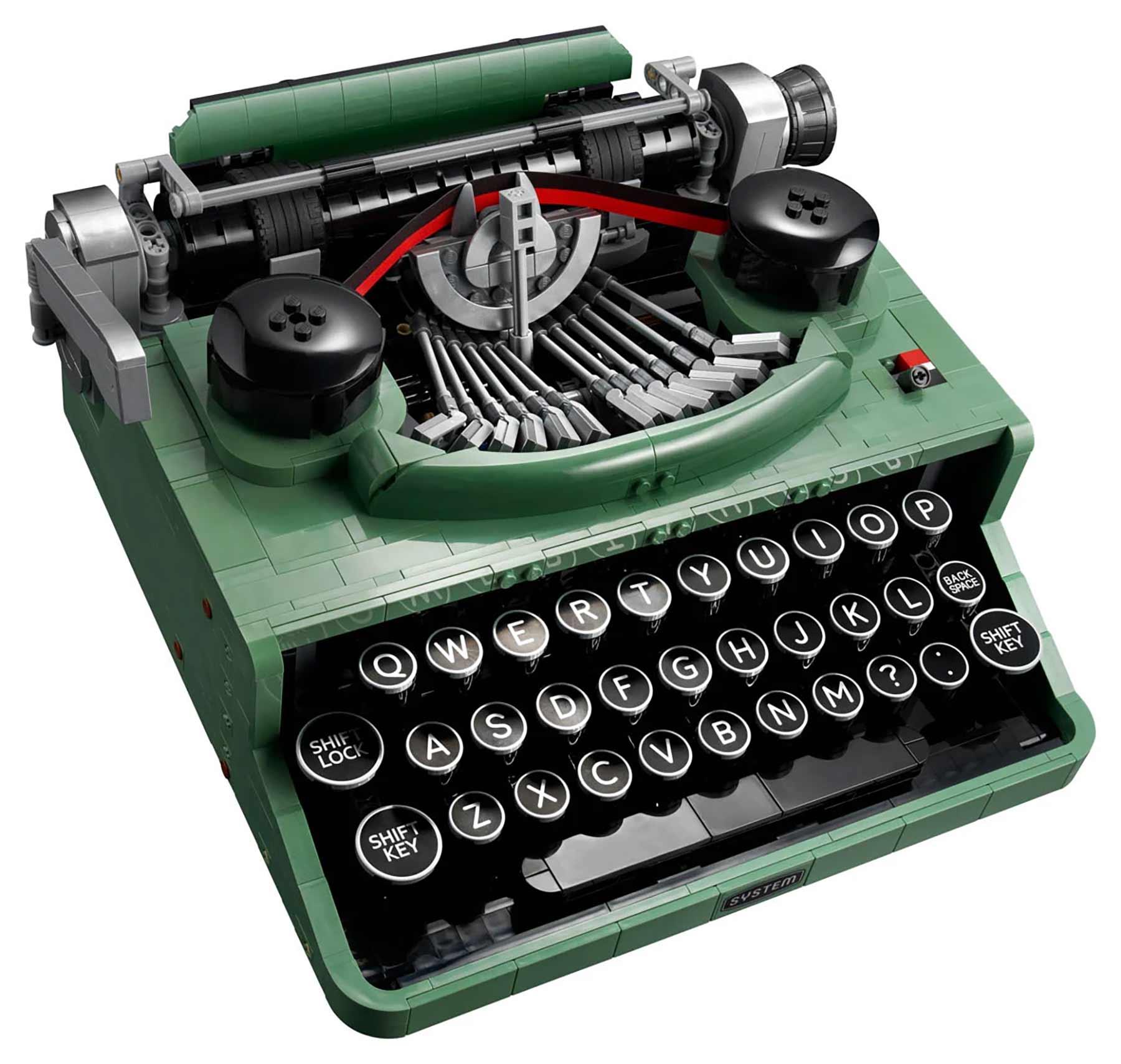 LEGO Schreibmaschine (Set 21327) LEGO-Schreibmaschine_02