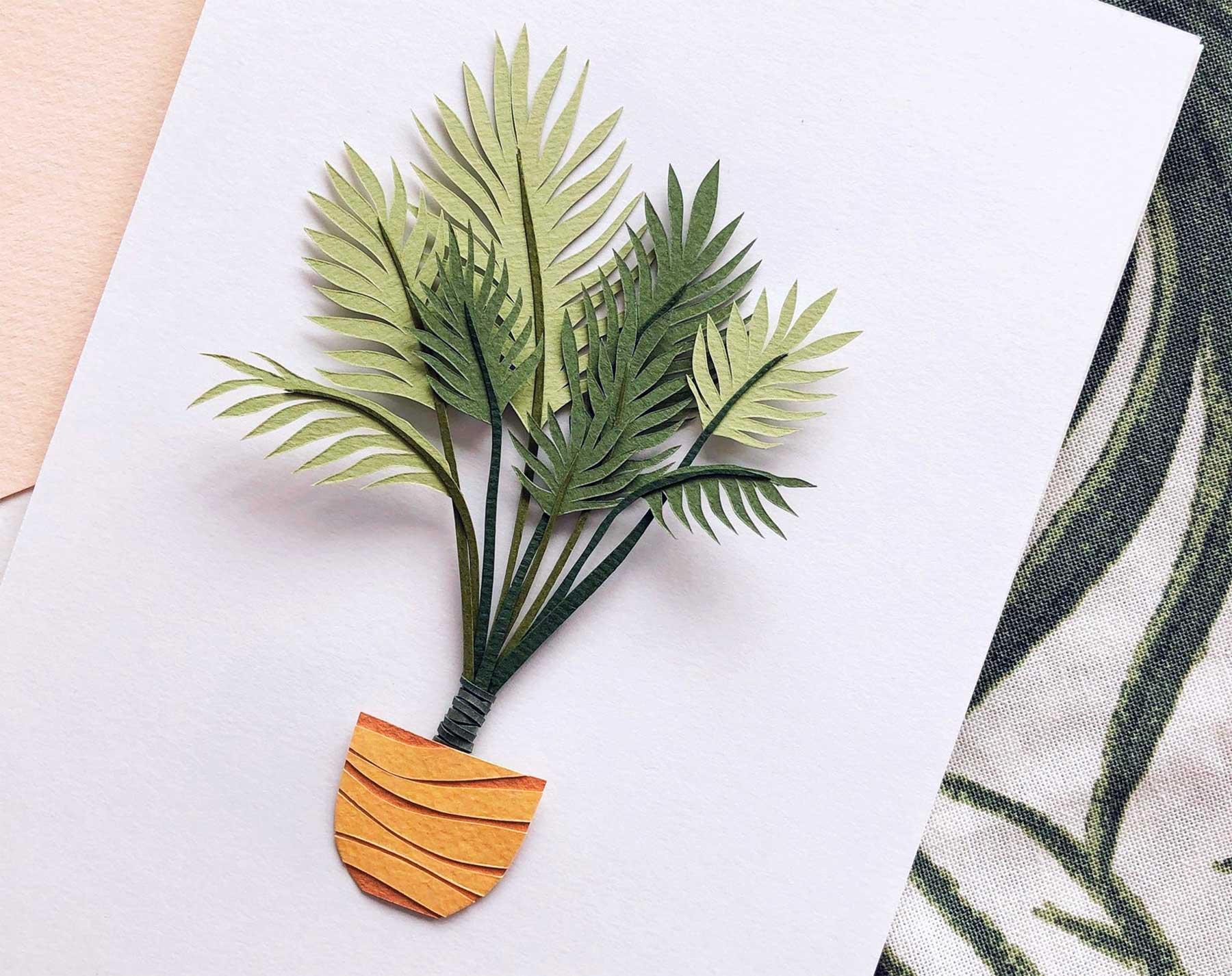 Papierkunstwerke von Lissova Craft