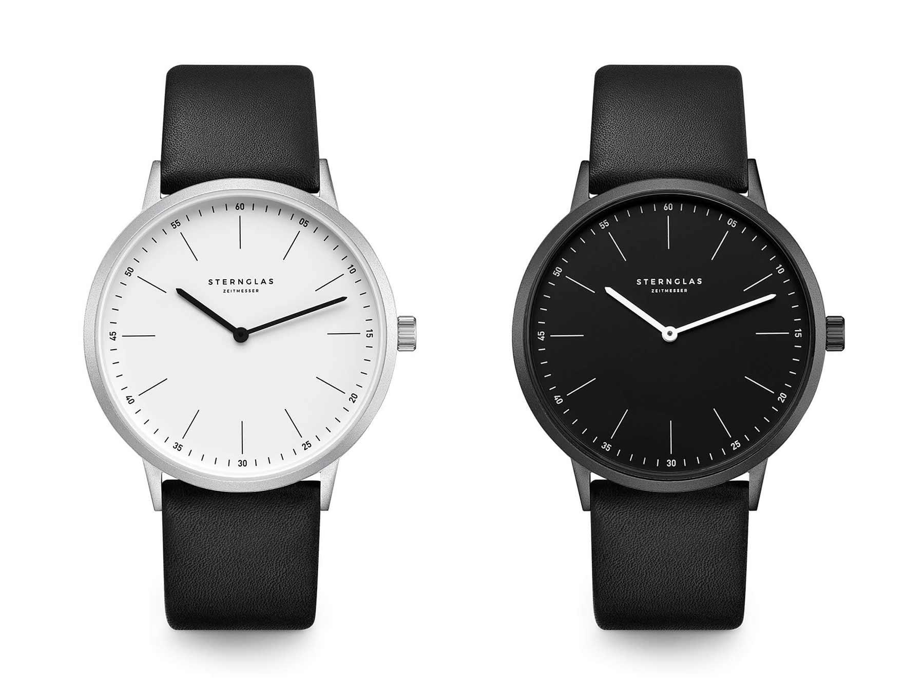 Extra leichte Armbanduhr im Bauhausdesign: Die neue STERNGLAS Modesto Sternglas_Modesto_Armbanduhr_Test_05