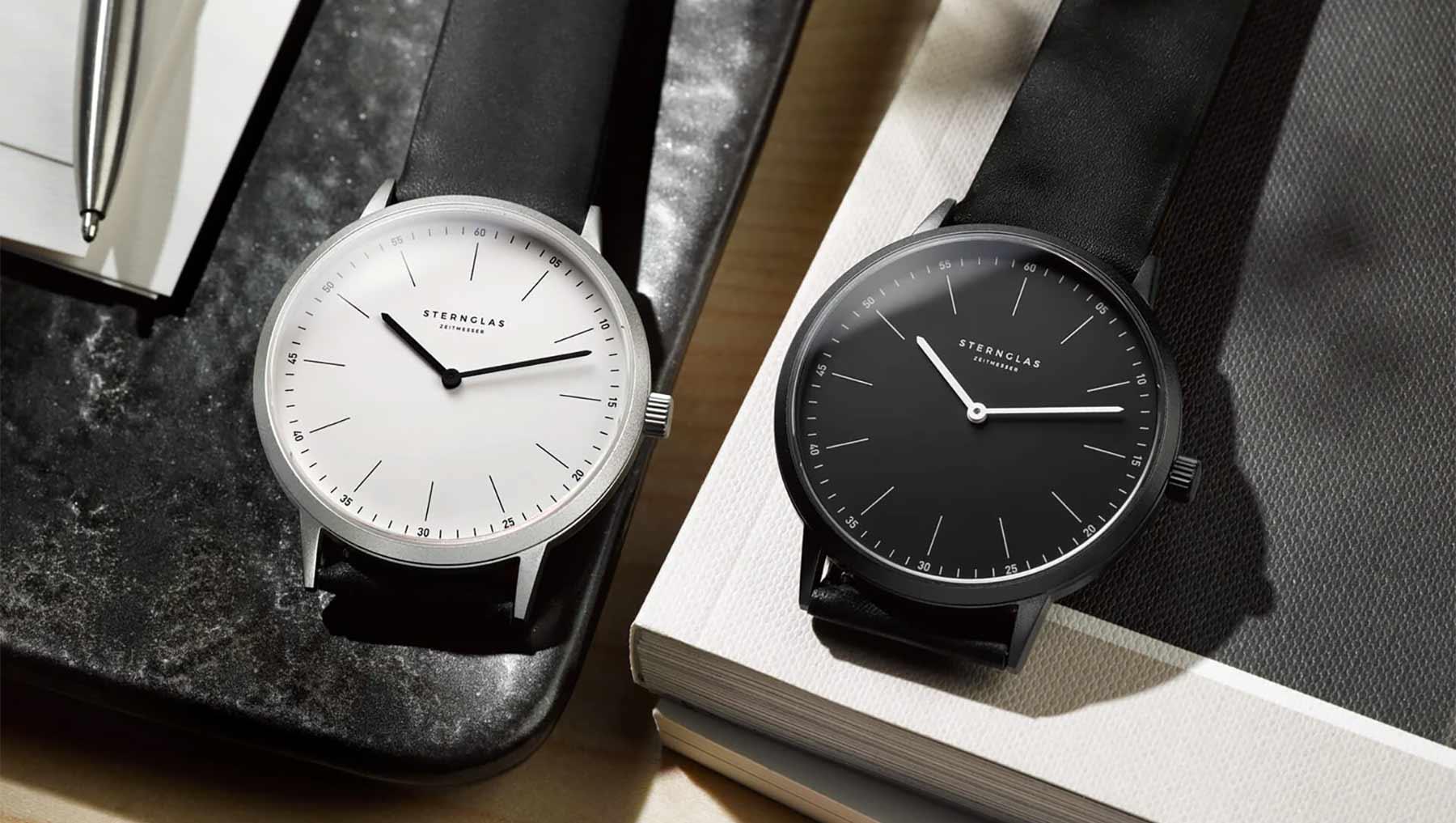 Extra leichte Armbanduhr im Bauhausdesign: Die neue STERNGLAS Modesto Sternglas_Modesto_Armbanduhr_Test_06-1