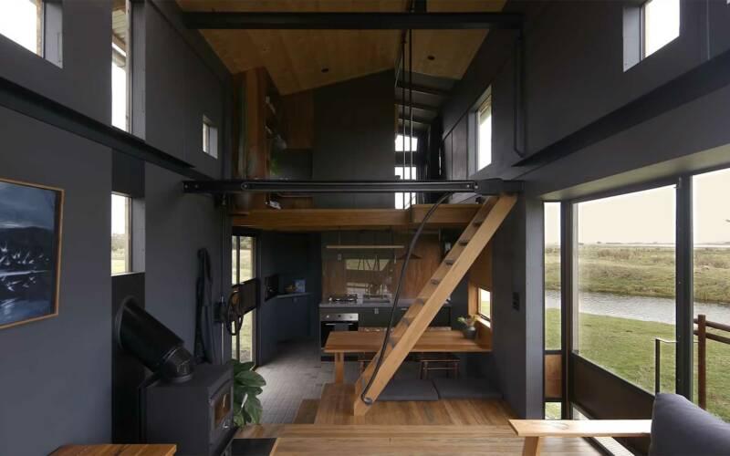 Leben auf 27 Quadratmetern in einem Tiny House