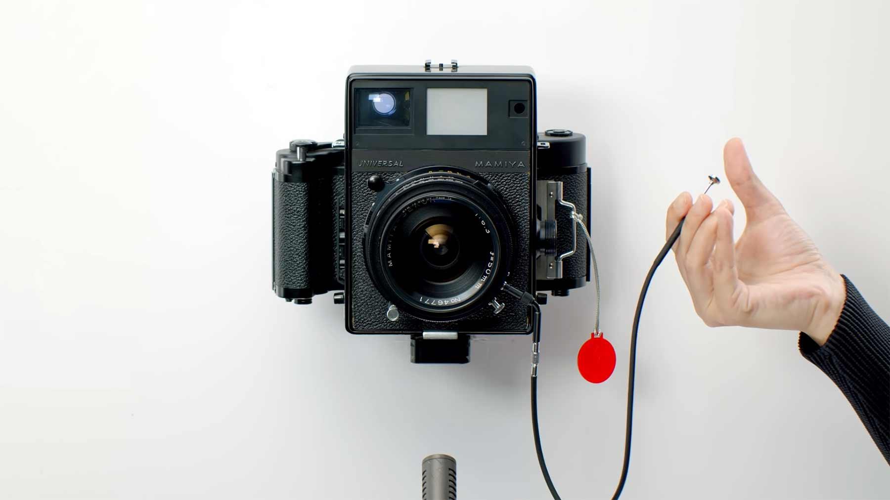 Auslöser-Geräusche von 18 Kameras