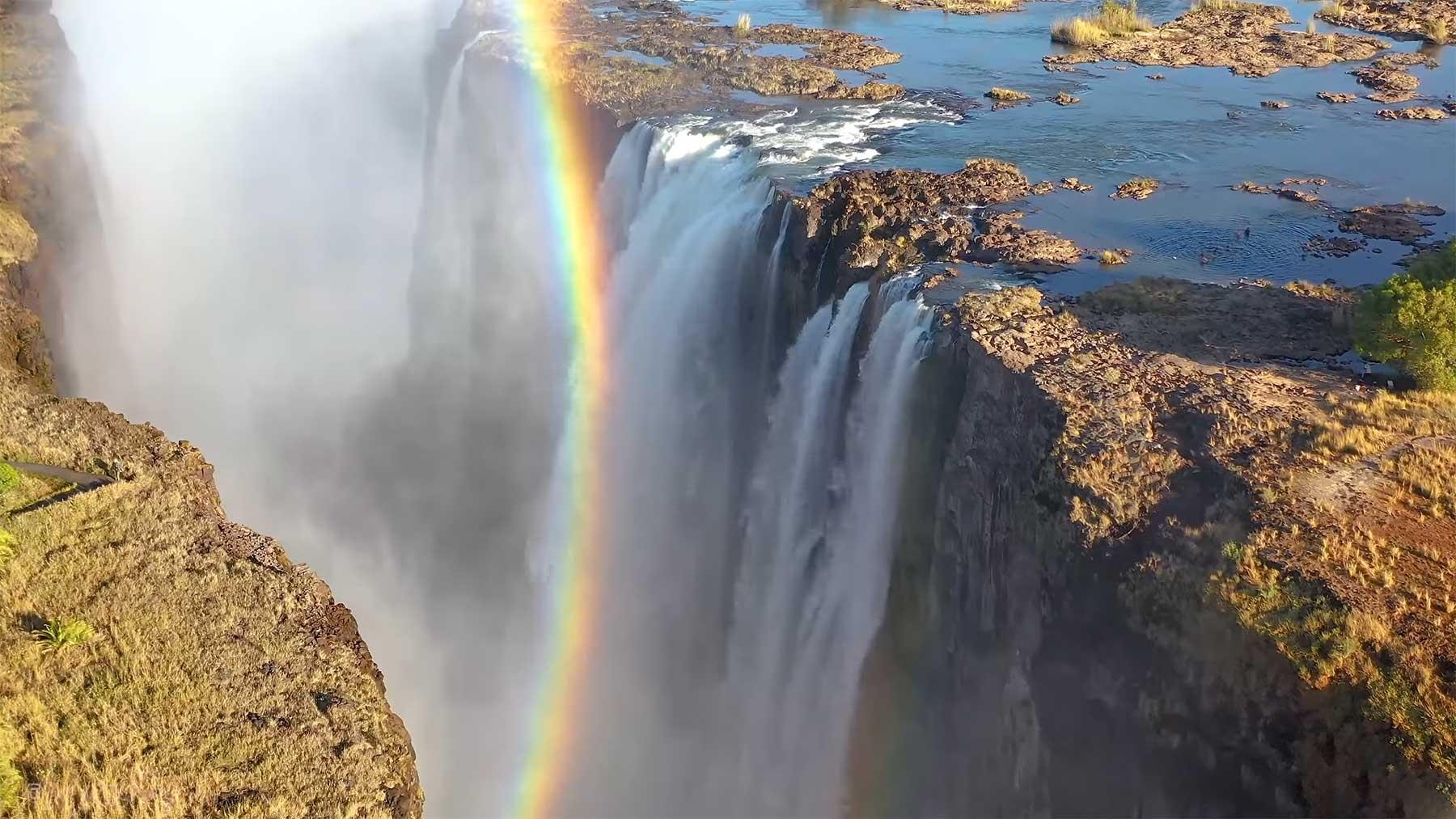 Wunderschöne Luftaufnahmen Afrikas
