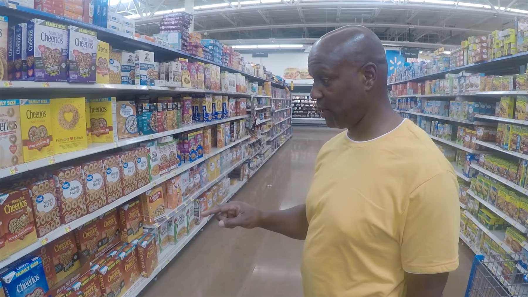 Mann besucht nach 26 Jahren im Gefängnis erstmals einen Supermarkt