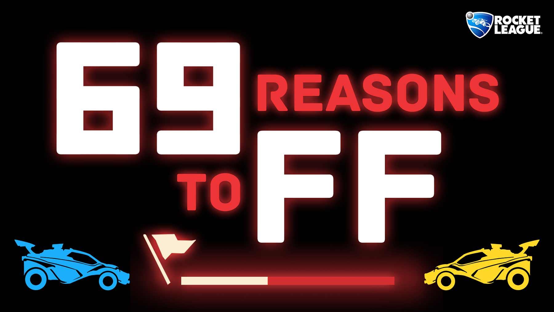 """69 Gründe, in """"Rocket League"""" aufzugeben"""