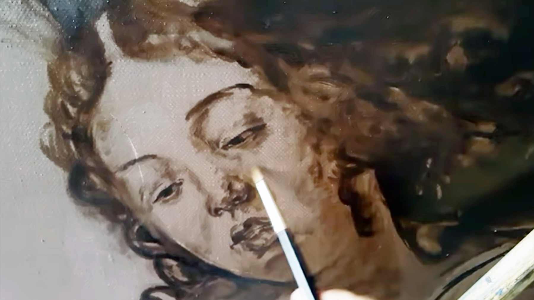 Wie Caravaggio malen