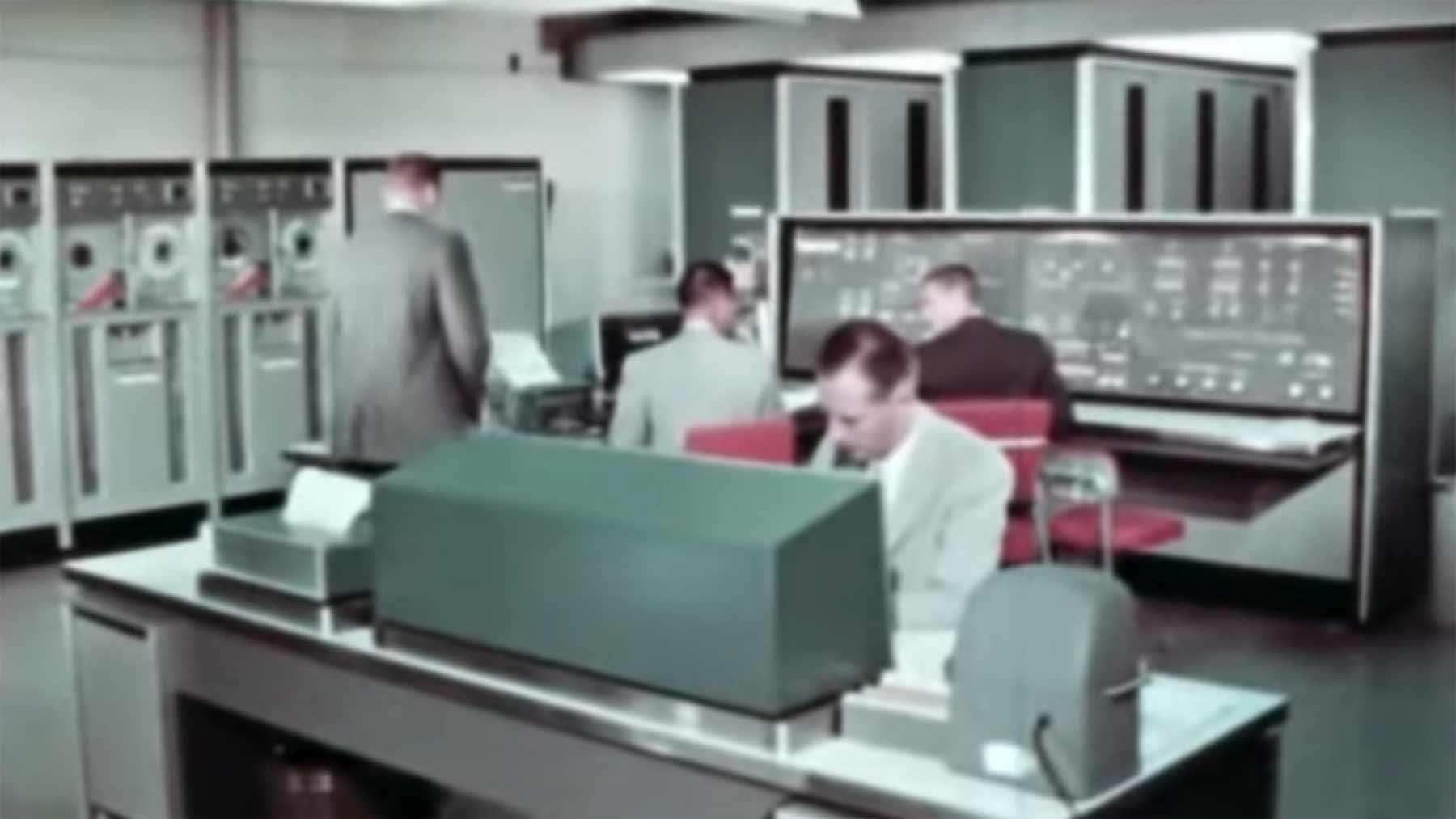 Computer-Trainingsvideo aus dem Jahr 1962