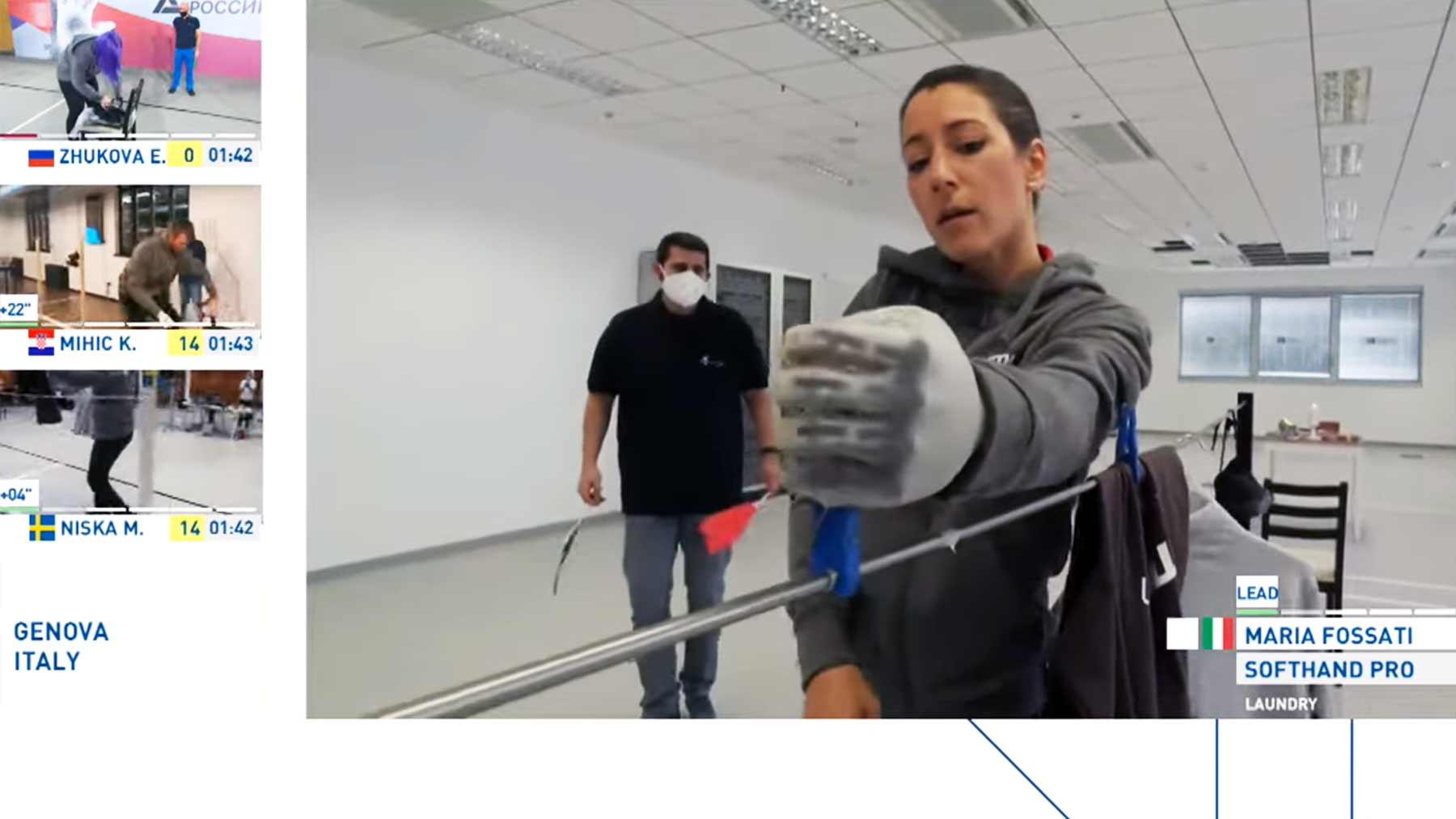 """Der """"CYBATHLON"""" sind die olympischen Alltags-Spiele für Leute mit technischen Prothesen"""